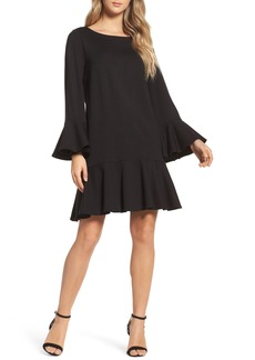 French Connection Matuku Lula Bell Sleeve Dress