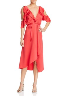 FRENCH CONNECTION Maudie Cold-Shoulder Dress