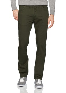 French Connection Men's 5 Pocket Trouser Slim Forest reg