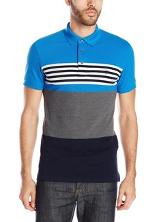 French Connection Men's Amerbix Bold Stripe Polo Shirt