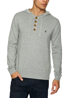 French Connection Men's Auderly Cotton Hoody Sweater