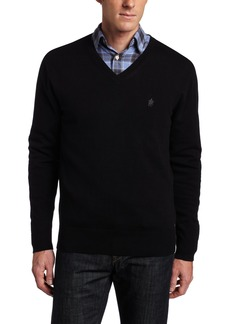 French Connection Men's Auderly Cotton V-neck Sweater
