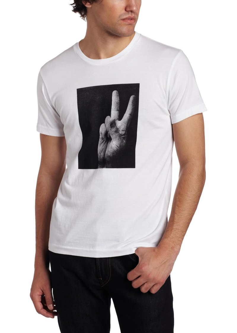 French Connection Men's Backhand Short Sleeve T-Shirt