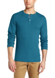 French Connection Men's Basic Henley Shirt