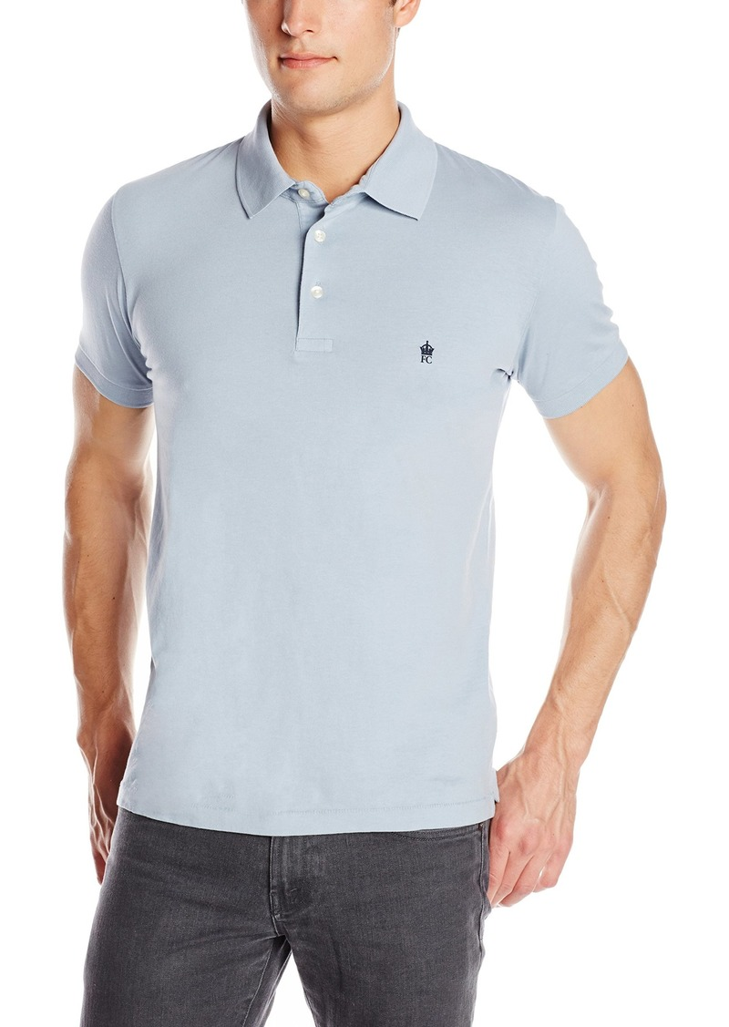 French Connection Men's Basic Sneezy Tee Polo