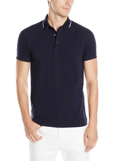 French Connection Men's Black Tipping Polo