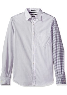 French Connection Men's  Block Cotton Shirt L
