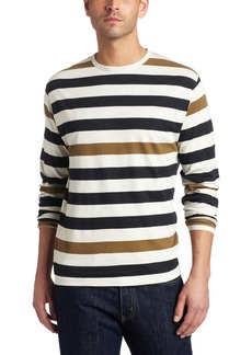 French Connection Men's Bruder Long Sleeve Stripe T-Shirt
