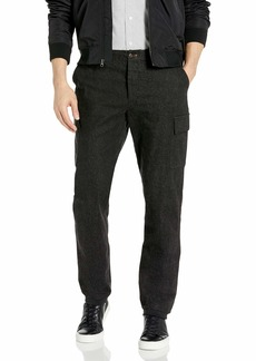 French Connection Men's Brushed Cotton Twill Stretch Pant