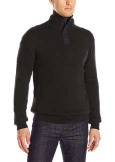 French Connection Men's Canvas Half Zip Sweater  S