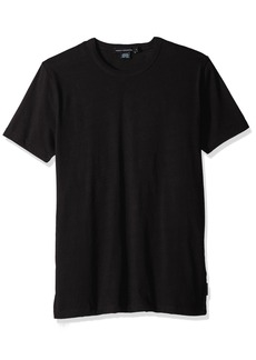 French Connection Men's Short Sleeve Slim Fit Solid Color Crew Neck T-Shirt  L