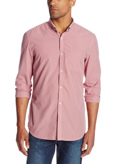 French Connection Men's Colourful Gingham Woven Shirt
