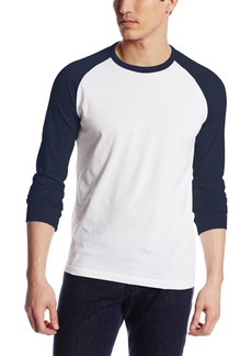 French Connection Men's Colourful Raglan Baseball T-Shirt