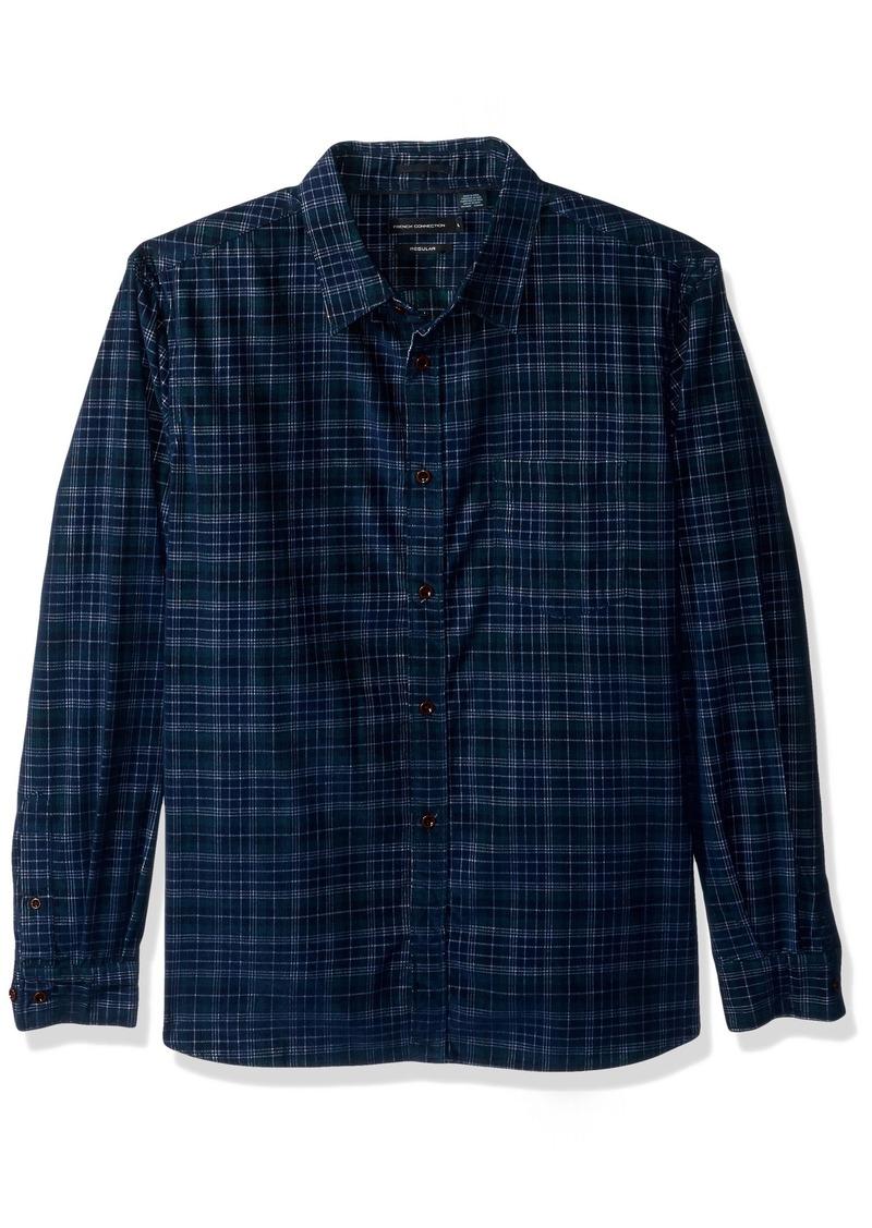 French Connection Men's Corduroy Essentials Shirt  M