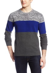 French Connection Men's Cottonfields Textured Grindle Sweater