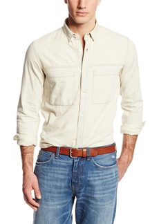 French Connection Men's David Denim Woven Shirt