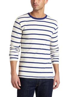 French Connection Men's Drosselbart Long Sleeve Stripe T-Shirt