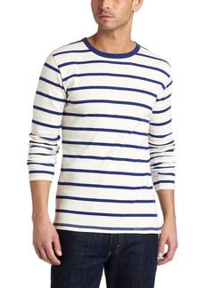 French Connection Men's Drosselbart Long Sleeve Stripe T-Shirt