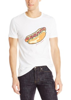 French Connection Men's Fc Hotdog Short Sleeve T-Shirt