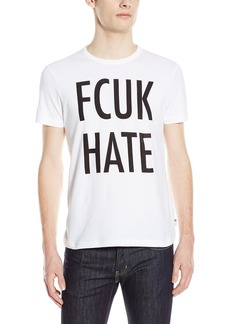 French Connection Men's FCUK Hate T-Shirt