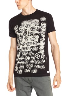 French Connection Men's Flag Stamp Tee