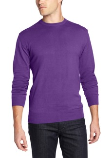 French Connection Men's Garment Dyed Auderly Crew Stephen'S Purple