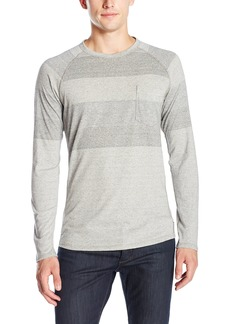 French Connection Men's gossan Grindle Stripe Long Sleeve Shirt