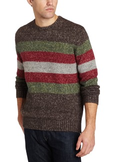 French Connection Men's Grindhouse Tweed Stripe Sweater