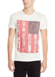 French Connection Men's Grung Flag Tee  Small