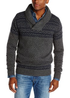 French Connection Men's Headsail Slubby Cotton Sweater