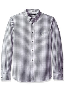 French Connection Men's Hornblendite Grindle Check Shirt  L