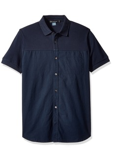 French Connection Men's Hybrid Polo/Shirt  S