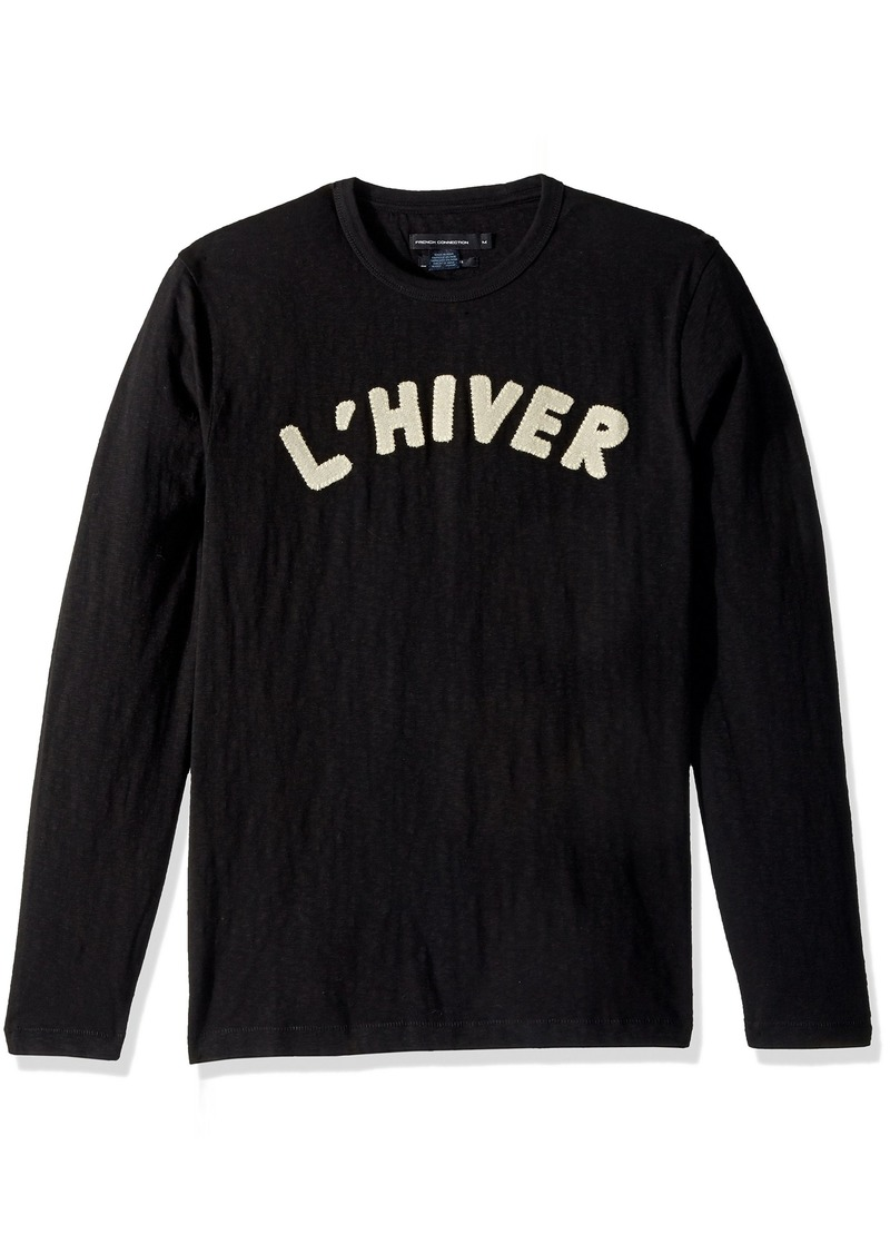 French Connection Men's L'hiver Long Sleeved T Shirt  S