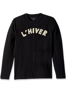 French Connection Men's L'hiver Long Sleeved T Shirt  XL