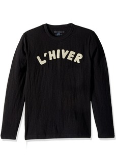 French Connection Men's L'hiver Long Sleeved T Shirt  XXL