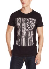 French Connection Men's Log and Stripes Tee