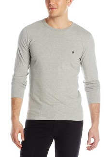 French Connection Men's Long Sleeve Basic Sneezy Tee