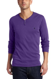 French Connection Men's Long Sleeve Henley