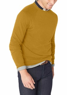 French Connection Men's Long Sleeve Stretch Cotton Sweater  L