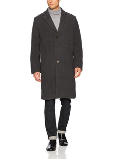 French Connection Men's Loose Crombie Coat