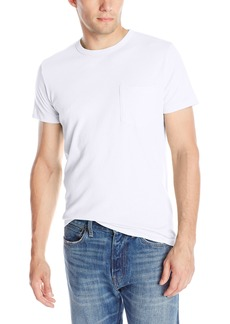 French Connection Men's Loose Knit Jersey Pocket Tee