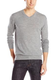 French Connection Men's Merino Basics V-Neck Sweater