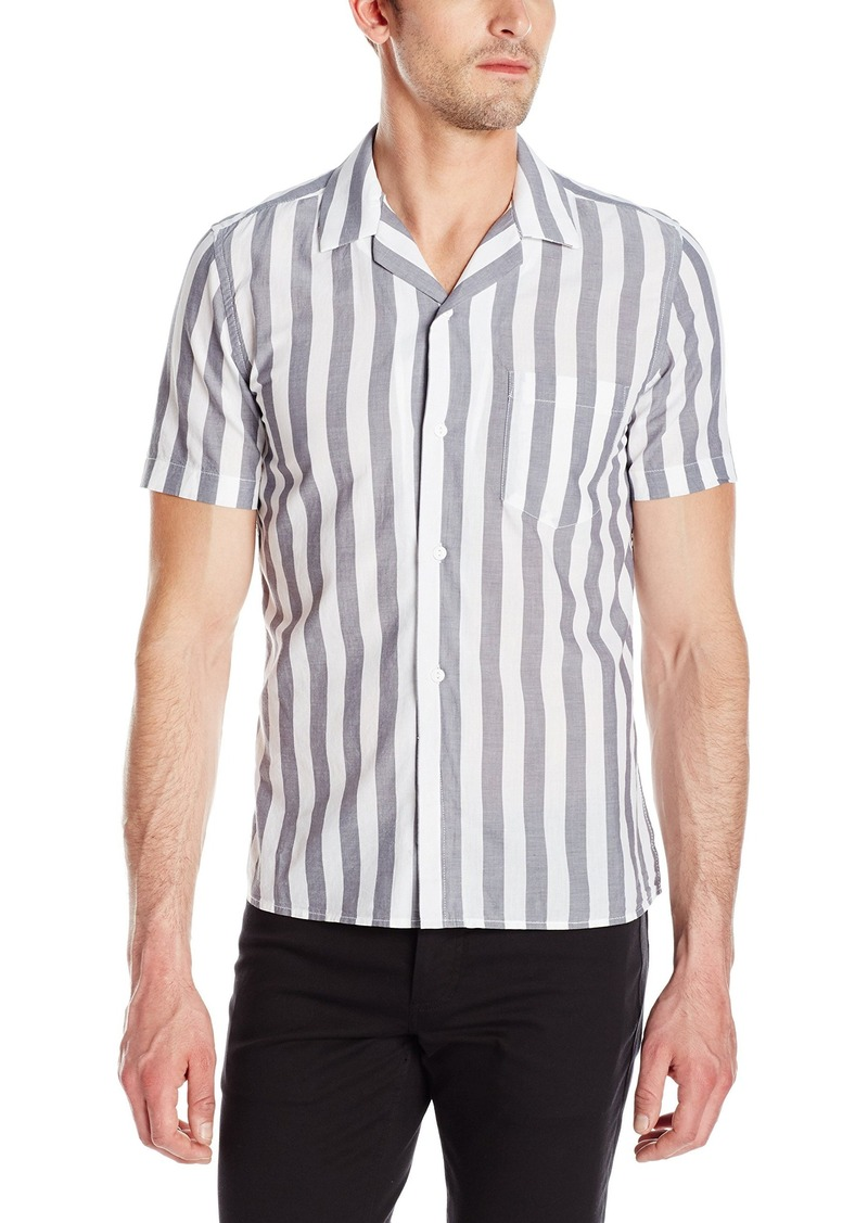 French connection french connection men 39 s mithun stripe for French cut shirt sleeve