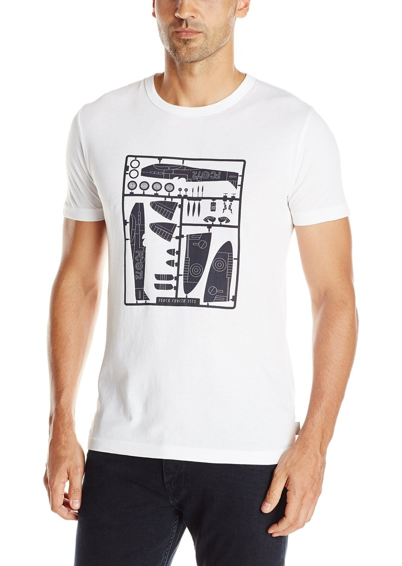 French Connection Men's Model Plane Tee T-Shirt