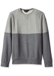 French Connection Men's Multi Melange Sweatshirt  L