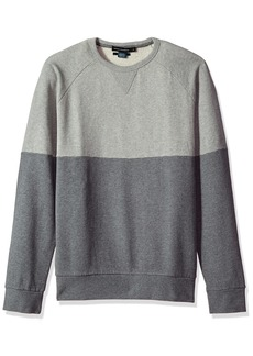 French Connection Men's Multi Melange Sweatshirt  XXL
