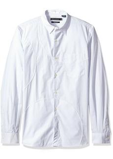 French Connection Men's Multi Spot Patch Shirt Regular  L