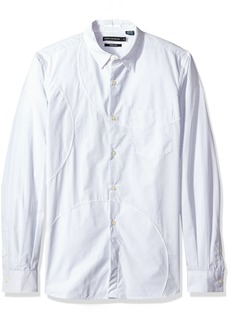 French Connection Men's Multi Spot Patch Shirt Regular  L