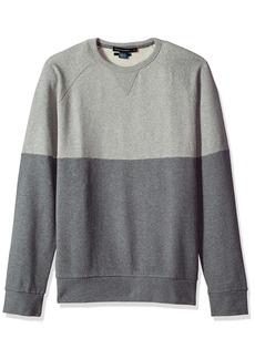 French Connection Men's Multi Sweatshirt mid Grey Melange L