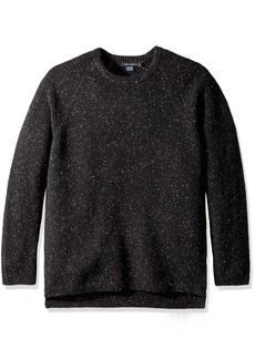 French Connection Men's Oversized Donegal Crewneck Sweater  L